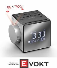 Sony ICF-C1PJ Radio Alarm With Time Projector Grey Best Gift Genuine New