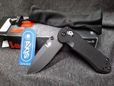 HK Bench Made pocket Knife 14716BK Axis Mini BL-PL Clip