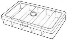 Myran 7000 5 Compartment Clear Tube Fly Box