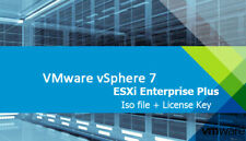 VMware vSphere ESXi 7.0 Enterprise Plus - Iifetime Iicense Key + Iso file