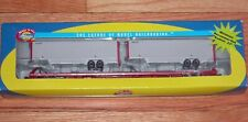 Athearn 74227 85' Flat Car Crab Orchard & Egyptian With 2 40' UPS Trailers Coer