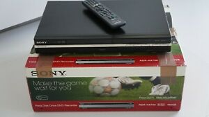 SONY RDR-HX780 DVD HDD Rekorder TV Aufnahmegerät Player 160 GB Festplatte HDMI