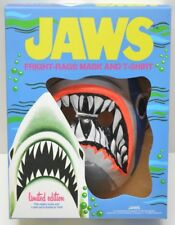Fright Rags JAWS Shark Retro Mask+Box NO T-SHIRT Halloween Costume