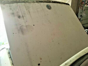 ALFA ROMEO SPIDER TRUNK DECK LID  ASSEMBLY White  OEM *NO SHIPPING*