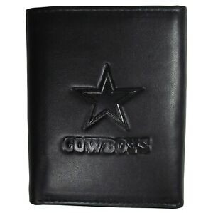 Dallas Cowboys Embossed Leather Tri-fold Wallet