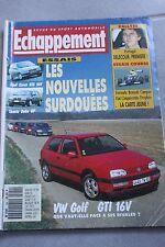 ECHAPPEMENT 294 / AVRIL 93 : OPEL CORSA GSI 16V LANCIA DELTA HF PORTUGAL