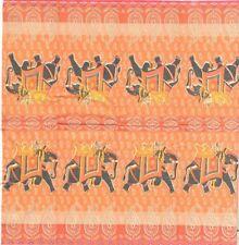 3 Mouchoirs papier éléphant Inde Decoupage Paper Napkins Effendi Serviette