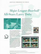 #901 (45c) Forever Larry Doby #4695 USPS Commemorative Stamp Panel
