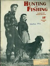 Hunting and Fishing--Sept. 1945-----326