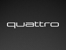Audi Quattro Large Car Sticker Vinyl Decal TT A3 S Line Window Windscreen etc