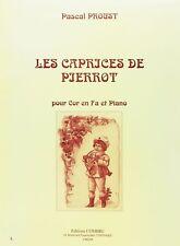 Les Caprices de Pierrot pour Cor en fa et piano
