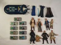 Hasbro Star Wars Commtech Chip Scanner Action Figures 1998 Anakin Yoda WORKING