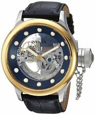 Invicta Men's Russian Diver Ghost 52mm Automatic Leather Watch - Choice of Color