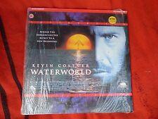 Waterworld Kevin Costner Movie Film Laser Disc Large DVD LaserDisc Vintage