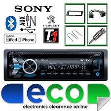 Peugeot 306 Sony CD MP3 USB Bluetooth Handsfree Ipod Iphone Radio Stereo Kit