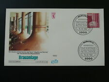 beer industry beverage alcohol FDC 1982 Berlin Germany 83788
