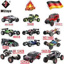 WLtoys 2.4G 4WD RC Auto High Speed Elektro Ferngesteuert Monster Truck Buggy Car