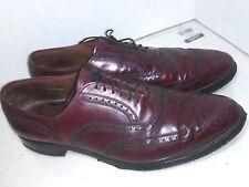 Allen Edmonds Lloyd Wingtip ShoesBurgundy Brogue Oxfords Mens Size 12 B