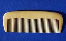Feinzahniger frisierkamm da libro ALBERO LEGNO/fine teeth Boxwood Comb