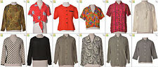 """JOB LOT OF 27 VINTAGE WOMEN""""S TOPS - Mix of Era's, styles and sizes (20914)*"""
