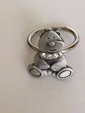 TEDDY DR37 Emblem Made From Fine English Pewter on Scarf Ring