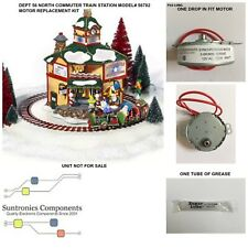 DEPT 56 North Commuter Train Station-56782- REPLACEMENT MOTOR -PARTS KIT