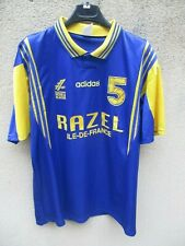 Maillot PONTAULT COMBAULT handball porté n°5 1994 champion Nationale ADIDAS PCHB