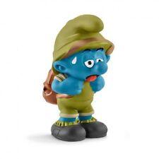 Figurine plastique Schtroumpfs (Les) Schtroumpf explorateur tirant la langue