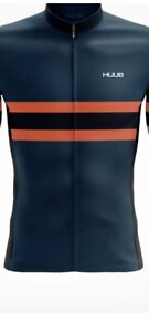 Huub  Bands Thermal Long Sleeve Jersey Midnight Blue - Mens Uk Size L