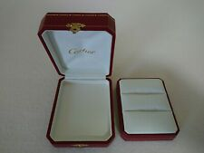 CARTIER GENUINE Ring BOX Double ring Wedding ring JEWELRY PRESENTATION 175223