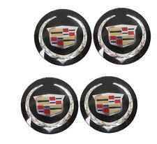 GM Cadillac 9597375 Black Wheel Center Cap Set Of 4