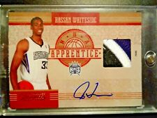 Hassan Whiteside 2010-11 Panini Rookie Autograph ( 3 color ) jersey card #05/10