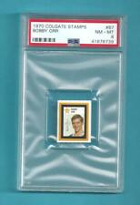 1970 Colgate 87 Bobby Orr Boston Bruins! PSA 8 NM-MT! ONLY 10 PSA HIGHER! RARE!
