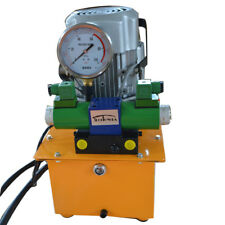 2 Stage Double Acting Electric Hydraulic Pump Power Pack 110v 10k Psi Hydraulic