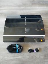 Sony PS3 Original CECHG01 40GB Console Bundle - Controller + 25 Games - Tested
