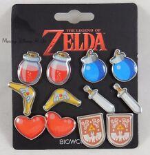 New The Legend Of Zelda Link's Earring Set 6 Pair Pack Pierced Stud Earrings Set