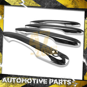 For 2018-2020 Toyota Camry Chrome Door Handle Cover Overlays w/o Smart Key Cut
