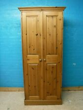 SOLID WOOD RUSTIC 2 DOOR WARDROBE  H194 W85 D54cm MORE ITEMS LISTED see our shop