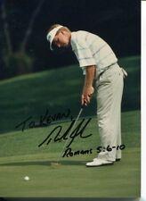 Rick Fehr PGA Golf Golfer Champ BYU Cougars Signed Autograph Photo