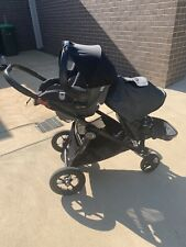 Baby jogger city select pram including 2 seats and britax baby capsule