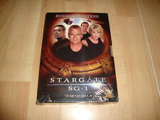 STARGATE SG1 TEMPORADA Nº 8 SERIE DE TV CON SEIS DISCOS EN DVD NUEVA PRECINTADA