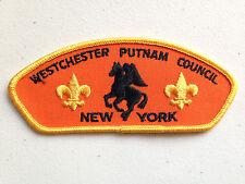 BOY SCOUT BSA CSP COUNCIL PATCH WESTCHESTER PUTNAM NEW YORK HEADLESS HORSEMAN