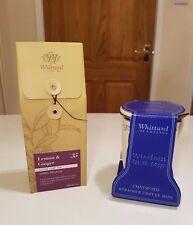 Gift Set WHITTARD Of Chelsea Tazza & Filtro con tè allentato limone e zenzero NUOVO!