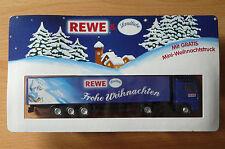 Modellino autocarro per birra Rimorchio trasporto MAN Rewe Landliebe NATALE HS 9