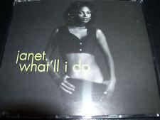 Janet Jackson What'll I Do Ultra Rare Australian 2 Track CD Single