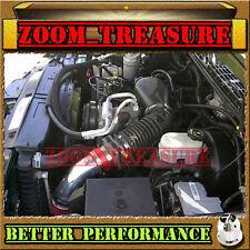 RED CHF 1996-2005 CHEVY S10 ZR2/ZR5/BLAZER/SONOMA/JIMMY/HOMBRE V6 AIR INTAKE