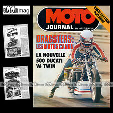 MOTO JOURNAL N°337 DEBBIE EVANS BMW R90 S CASQUE TOTAL JEAN-JACQUES SABIANI 1977