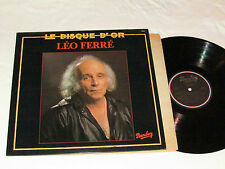LEO FERRE Ferré Le Disque D'Or LP 1979 Barclay Record Canada VG+/VG+ FRENCH HITS