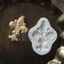 Baroque Retro Relief Silicone Fondant Mould Cake Decor Sugar Gum Paste Icing Mat