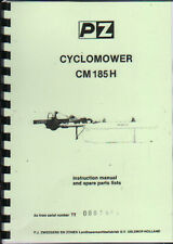 "PZ ""Cyclomower"" CM 185 H Mower Operator Instruction/Parts List Manual"